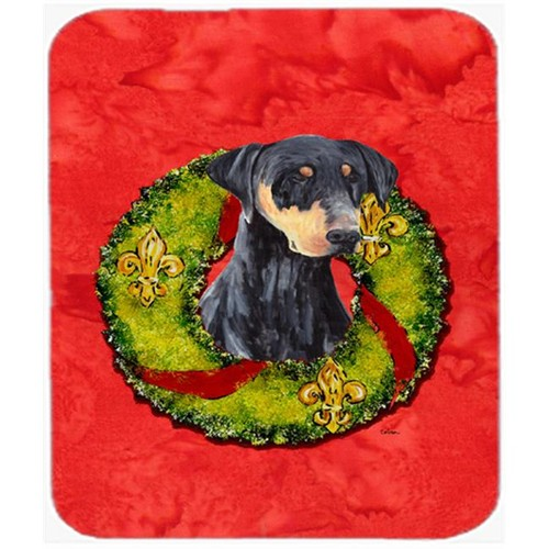 Carolines Treasures SC9106MP Doberman Mouse Pad Hot Pad Or Trivet