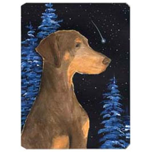 Carolines Treasures SS8462MP Starry Night Doberman Mouse Pad