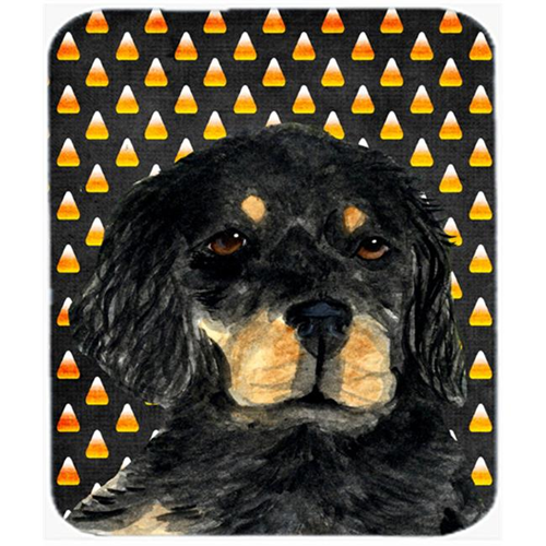 Carolines Treasures SS4308MP Gordon Setter Candy Corn Halloween Portrait Mouse Pad Hot Pad or Trivet