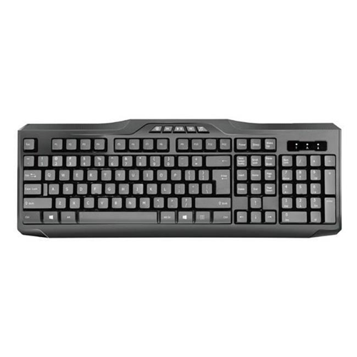 iMicro KB-US9851M Multimedia Wired USB English Keyboard Black
