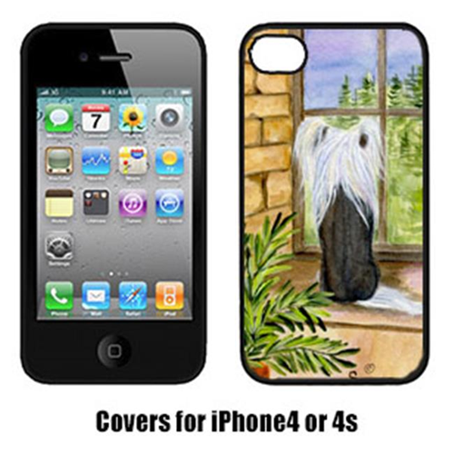 Carolines Treasures SS8121IP4 Chinese Crested Iphone 4 Cover