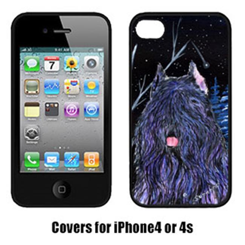 Carolines Treasures SS8394IP4 Starry Night Bouvier des Flandres Cell Phone cover IPhone 4