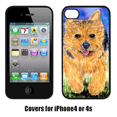 Carolines Treasures SS8993IP4 Norwich Terrier Cell Phone Cover Iphone4