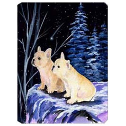 Carolines Treasures SS8395MP Starry Night French Bulldog Mouse Pad