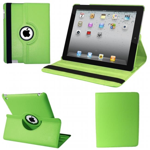 Natico 60-IM360-GN IPAD MINI 360 CASE FAUX GREEN