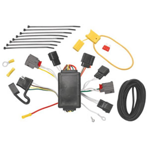 Tow Ready 118444 T-One Connector Assembly With Circuit Protected Modulite Module 3.98 x 5.63 x 9 in.