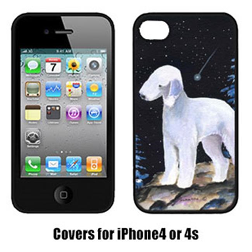 Carolines Treasures SS8455IP4 Starry Night Bedlington Terrier Cell Phone Cover Iphone 4