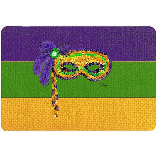 Carolines Treasures 8384MP 9.5 x 8 in. Mardi Gras Mouse Pad Hot Pad Or Trivet