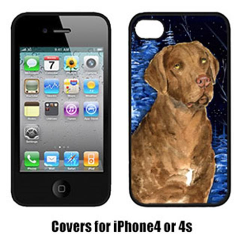 Carolines Treasures SS8384IP4 Starry Night Chesapeake Bay Retriever Cell Phone cover IPhone 4