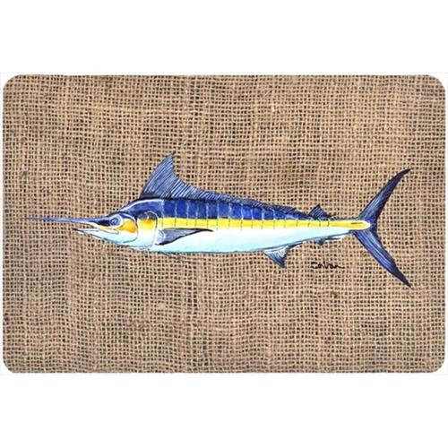 Carolines Treasures 8773MP 9.25 x 7.75 in. Fish - Marlin Mouse Pad Hot Pad Or Trivet