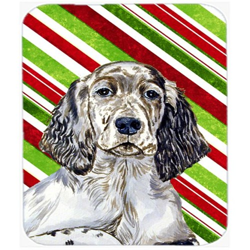Carolines Treasures LH9232MP English Setter Candy Cane Holiday Christmas Mouse Pad Hot Pad Or Trivet