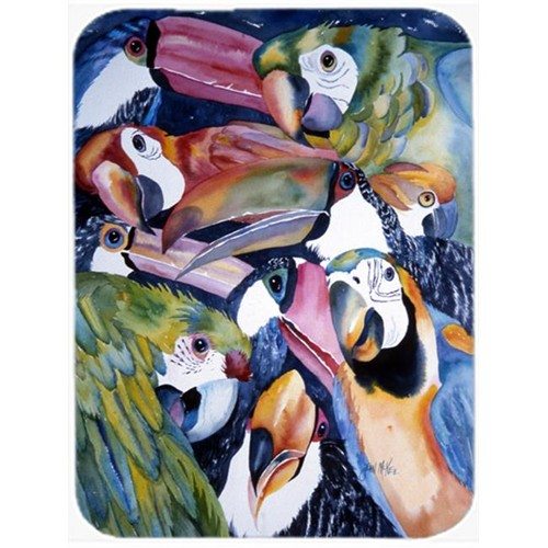 Carolines Treasures JMK1192MP Parrots Mouse Pad Hot Pad & Trivet