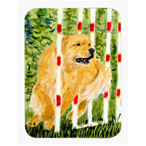 Carolines Treasures SS8906MP Golden Retriever Mouse Pad & Hot Pad & Trivet