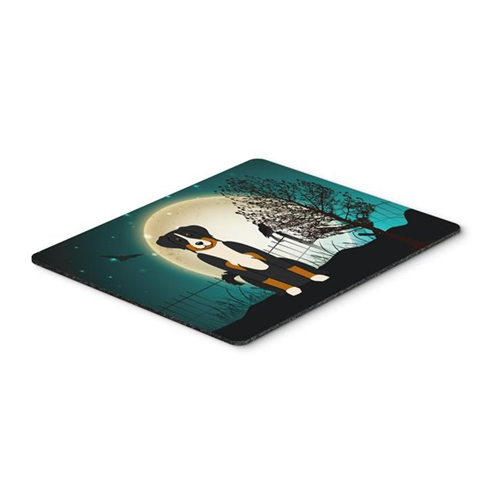 Carolines Treasures BB2233MP Halloween Scary Appenzeller Sennenhund Mouse Pad Hot Pad or Trivet