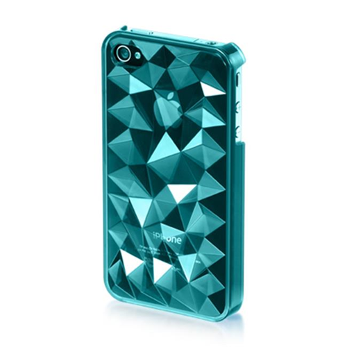 DreamWireless IP-MCIP4VZBL iPhone 4S & iPhone 4 Compatible Mount Crystal Case - Blue