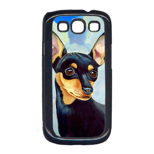 Carolines Treasures 7073GALAXYSIII Min Pin Cell Phone Cover Galaxy S111