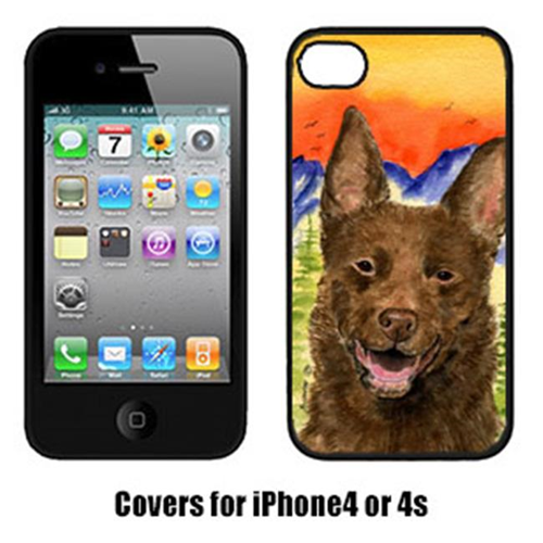Carolines Treasures SS8422IP4 Australian Kelpie Cell Phone Cover Iphone 4