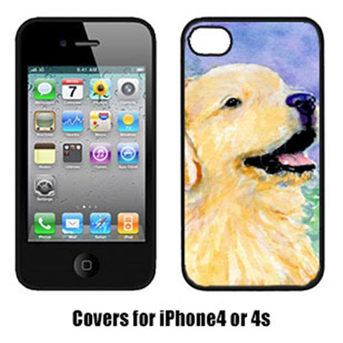 Carolines Treasures SS8904IP4 Golden Retriever Cell Phone Cover Iphone4