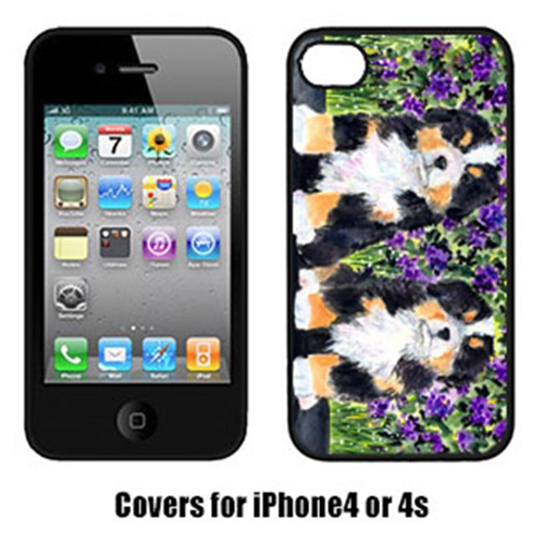 Carolines Treasures SS8334IP4 Bernese Mountain Dog Cell Phone cover IPhone 4