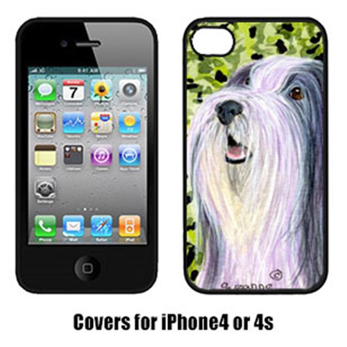 Carolines Treasures SS8808IP4 Bearded Collie Iphone4 Cover