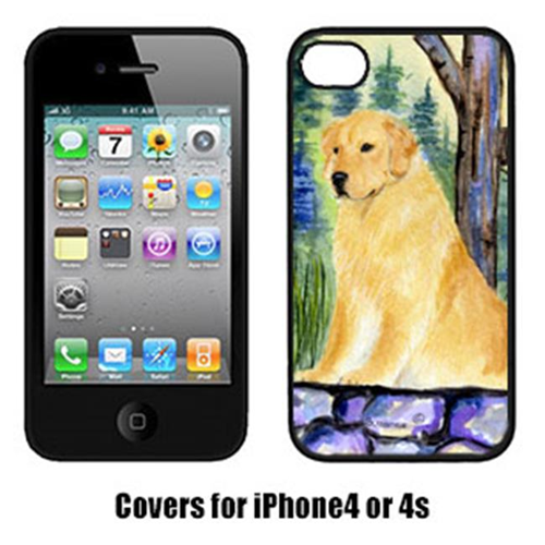 Carolines Treasures SS8111IP4 Golden Retriever Iphone 4 Cover