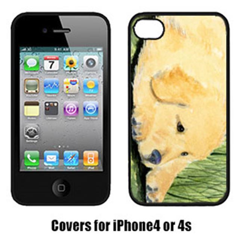 Carolines Treasures SS8864IP4 Golden Retriever Iphone 4 Cover