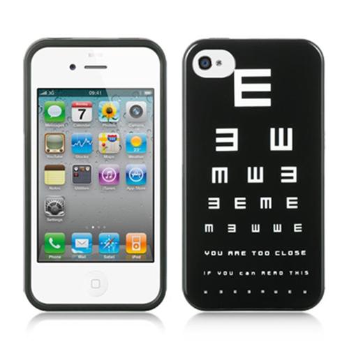 DreamWireless IP-TIIP4SNEL Apple iPhone 4S & iPhone 4 Compatible TPU IMD Case - Snellen