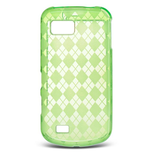 DreamWireless CSSAMT939GRCK Samsung Behold Ii-T939 Crystal Skin Green Checker