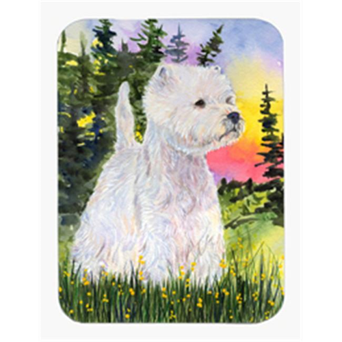 Carolines Treasures SS1067MP 8 x 9.5 in. Westie Mouse Pad Hot Pad or Trivet