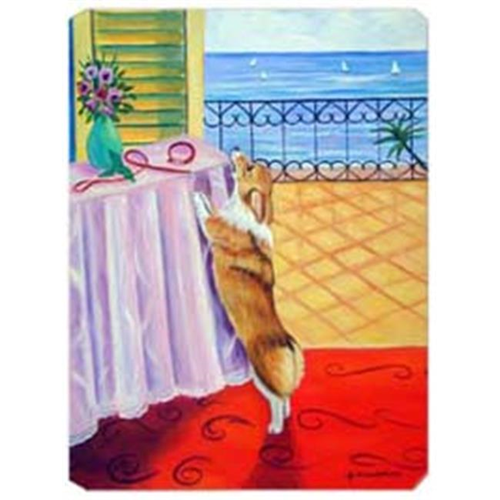 Carolines Treasures 7285MP 8 x 9.5 in. Corgi Mouse Pad Hot Pad or Trivet