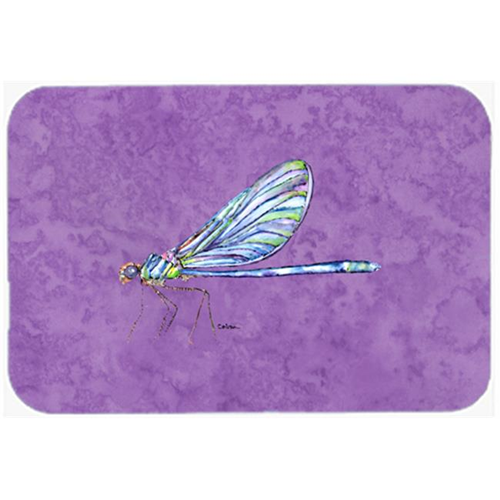 Carolines Treasures 8865MP 9.5 x 8 in. Dragonfly on Purple Mouse Pad Hot Pad or Trivet