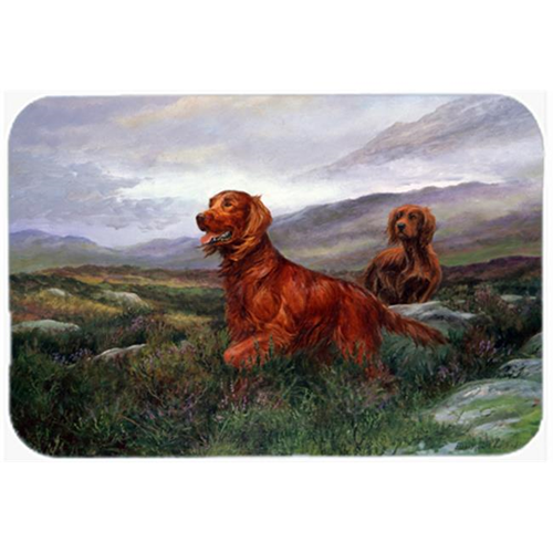 Carolines Treasures HEH0081MP Irish Setters by Elizabeth Halstead Mouse Pad Hot Pad or Trivet