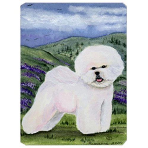 Carolines Treasures SS8025MP 8 x 9.5 in. Bichon Frise Mouse Pad Hot Pad or Trivet