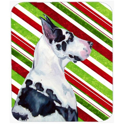 Carolines Treasures LH9236MP Great Dane Candy Cane Holiday Christmas Mouse Pad Hot Pad Or Trivet