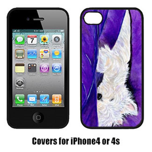 Carolines Treasures SS8337IP4 Westie Cell Phone cover IPhone 4