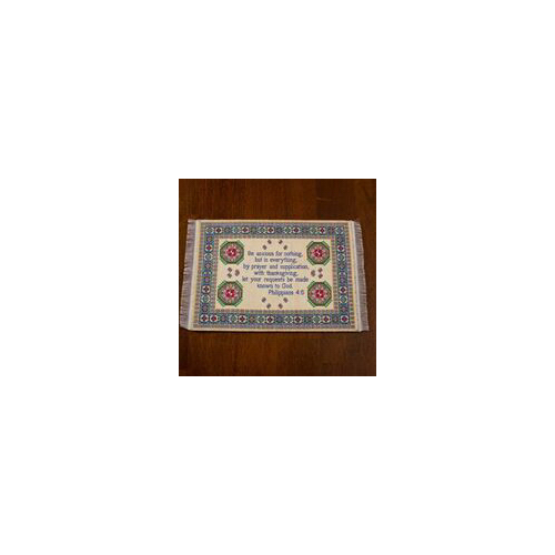 Lukas Media 18453X Mouse Pad-Philippians 4 - 6-Carpet