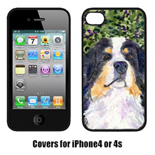 Carolines Treasures SS8830IP4 Bernese Mountain Dog Iphone 4 Cover