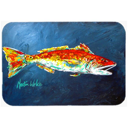 Carolines Treasures MW1093MP Fish - Red Fish Red for Jarett Mouse Pad Hot Pad or Trivet