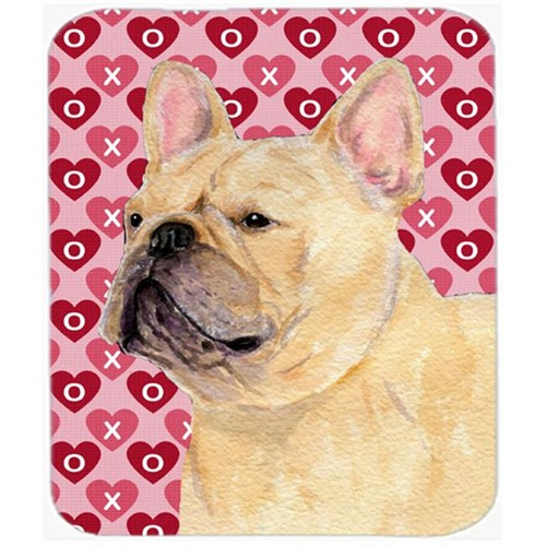 Carolines Treasures SS4485MP French Bulldog Hearts Love And Valentines Day Mouse Pad Hot Pad Or Trivet