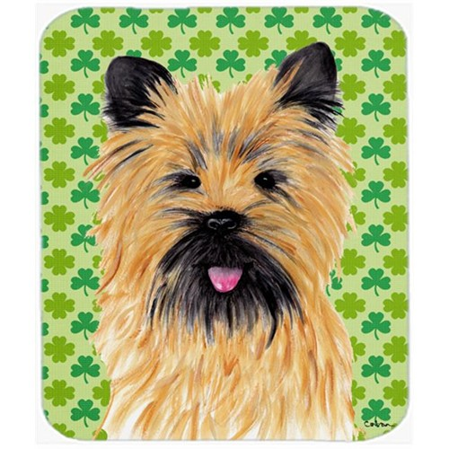 Carolines Treasures SC9295MP Cairn Terrier St. Patricks Day Shamrock Portrait Mouse Pad Hot Pad or Trivet