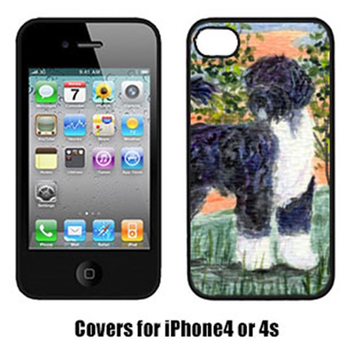 Carolines Treasures SS8855IP4 Portuguese Water Dog Cell Phone Cover Iphone4