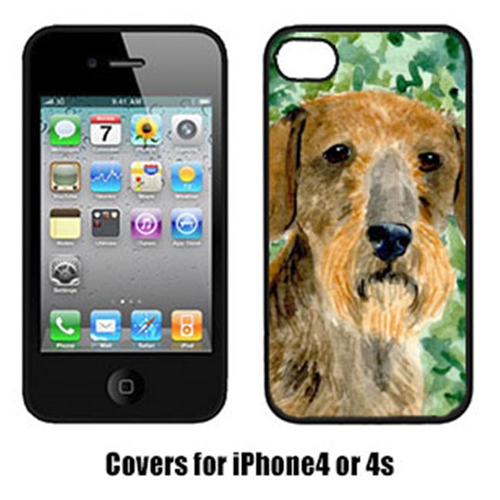 Carolines Treasures SS8806IP4 Dachshund Iphone4 Cover