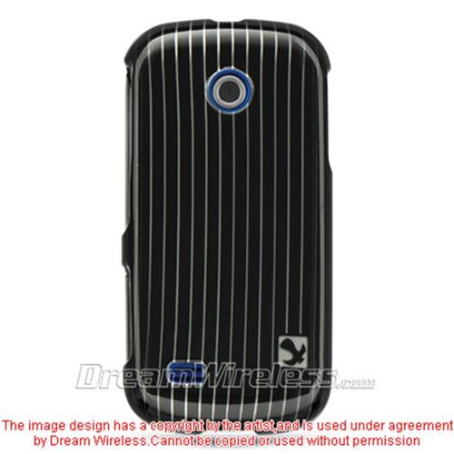 DreamWireless CASAMA597BKLN Samsung A597 & Eternity Ii Crystal Case Black Line