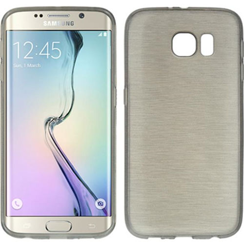 DreamWireless CSSAMS6EDGE-TS-SM Samsung Galaxy S6 Edge Crystal Skin Case Transparent Smoke