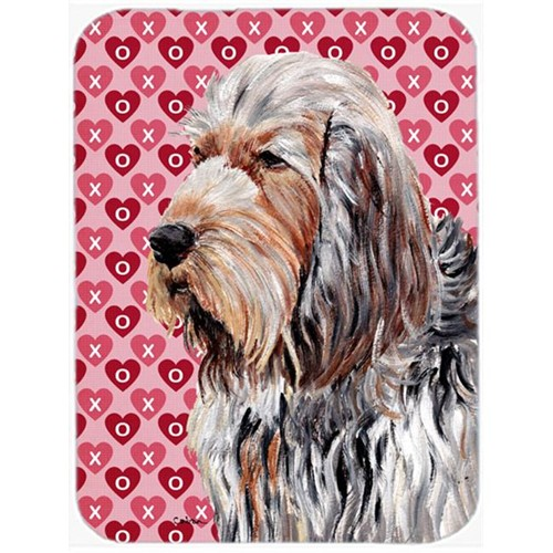 Carolines Treasures SC9708MP Otterhound Hearts And Love Mouse Pad Hot Pad Or Trivet 7.75 x 9.25 In.
