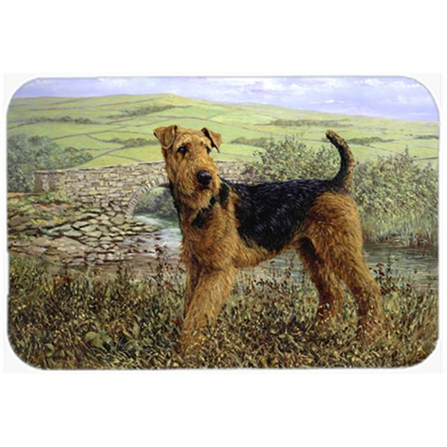 Carolines Treasures HMHE0245MP Airedale Terrier the Kings Country Mouse Pad Hot Pad or Trivet