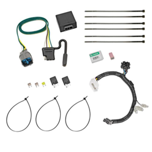 Tow Ready 118558 T-One Connector Assembly With Upgraded Circuit Protected Modulite HD Module 8 x 3.10 x 11 in.