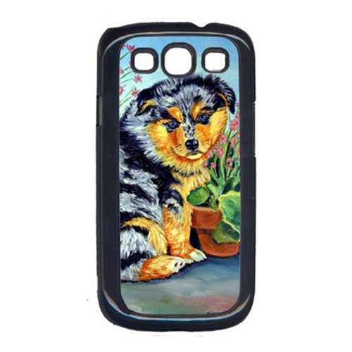 Carolines Treasures 7045GALAXYSIII Australian Shepherd Puppy Cell Phone Cover Galaxy S111