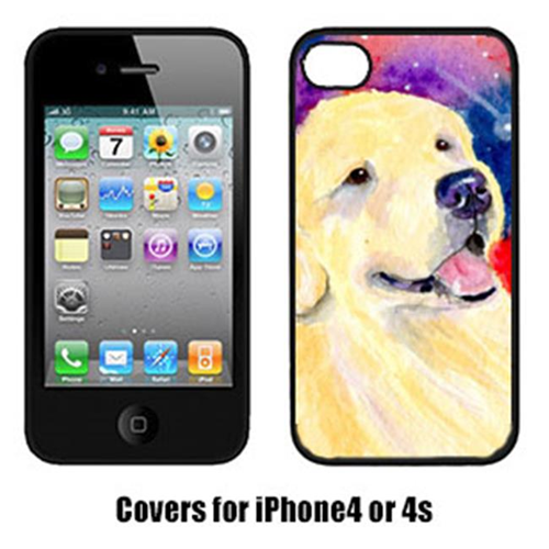 Carolines Treasures SS8753IP4 Golden Retriever Iphone4 Cover