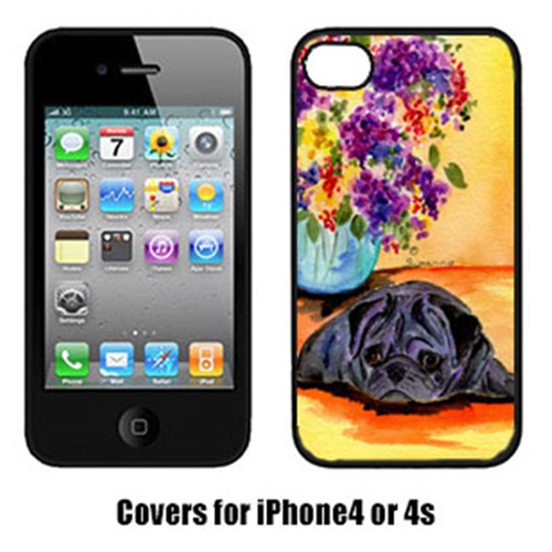 Carolines Treasures SS8298IP4 Pug Cell Phone cover IPhone 4